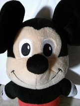 "Fisher Price Disney 11"" TALKING Mickey Mouse 2009 Mattel Stuffed Plush D... - $12.63"