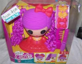 Lalaloopsy Girls Peanut Big Top Styling Head New - $15.50