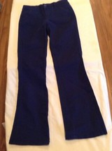Justice pants Girls Size 10 Regular blue uniform pants New - $14.99