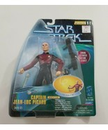 "Star Trek Playmates 6"" Warp Factor Series 1 Captain Jean-Luc Picard NEW OS  - $23.36"