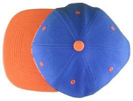 Young & Reckless LA Block Royal Blue Orange Snapback Baseball Hat Cap NWT image 6