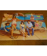 Zac Efron Ashley Tisdale Corbin Bleu teen magazine poster clipping pool ... - $4.00