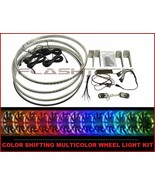 FLASHTECH Color Shifting Multi color Wheel lights RIM rings for Ford F25... - $177.61
