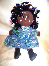 Black rag doll folk art by agiftcorp - $12.32