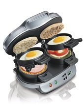 Hamilton Beach 25490A Dual Breakfast Sandwich Maker - $89.50 CAD