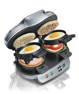 Hamilton Beach 25490A Dual Breakfast Sandwich Maker - £49.77 GBP