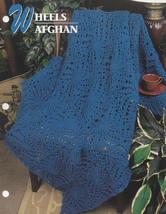 Wheels Afghan, Annie's Attic Crochet Quilt & Afghan Pattern Leaflet QAC3... - $2.95