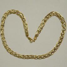 """Avon Necklace Gold Tone WOVEN Faux Pearl Bead, 18"""" long NOS RETRO VTG  - $19.75"""