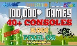64GB Retropie With 100,000 Games, Kodi, And Pixel Os - $45.99