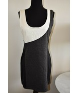 NWT Evening Sexy Sleeveless Black Gray White Party Dress By Chelsey Size XL - $16.01