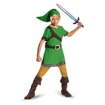 Disguise Legend Of Zelda Link Classic Kids Boys Child Halloween Costume ... - $24.23