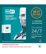 ESET Smart Security 2018,3 PCs for 1 Year Nepal License Key in eBay Message - $16.06 CAD