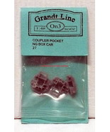 Grandt Line~O-Scale/On3/1:48~27~Coupler Pocket NG Box Car~MIB~OOP - $10.00