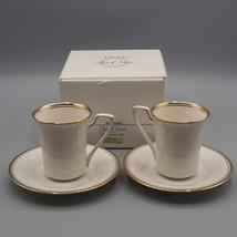 Noritake Fine China Espresso Set Gold Band 7705 - $24.74