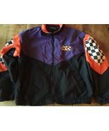 Arctic Cat Racing Jacket L rare 1980's Vintage swingster sno-cross snowm... - $30.58
