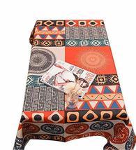 Panda Superstore Creative Solar Totem Cotton Tablecloth/Tea Table Clothes