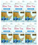 6 PACK OF Hyleys 100% Natural Slim Green Tea Blueberry Flavor 25 Teabags... - $39.99