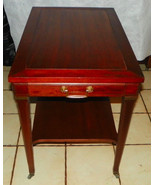 Mahogany End Table / Side Table by Mersman - $299.00