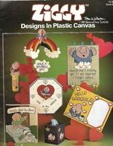 Ziggy Designs in Plastic Canvas 1982 Paragon Book #2006 Bookmark Frame M... - $6.92