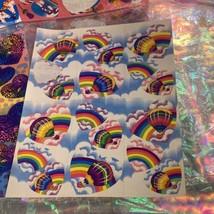 Incomplete Vintage Lisa Frank Sticker Sheets Hearts & Unicorns Ballet Cheetah ! image 2