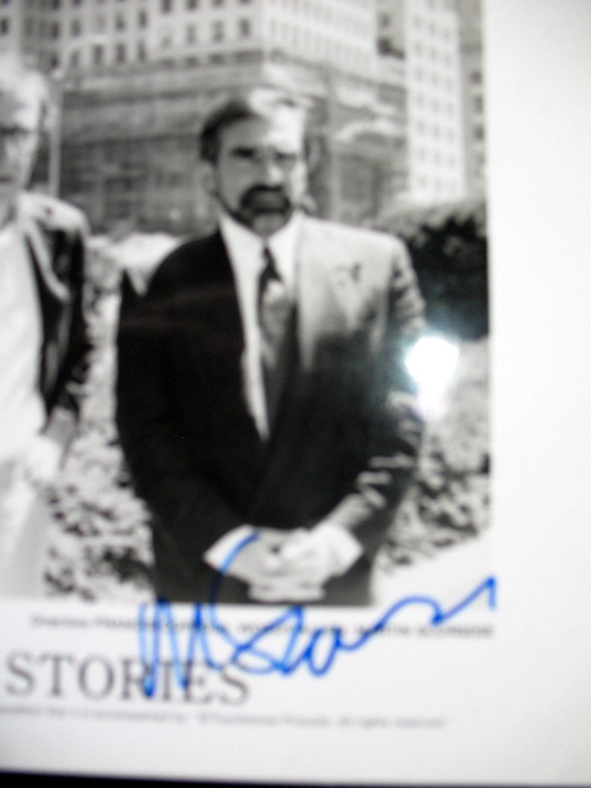 MARTIN SCORSESE (NEW YORK STORYS) ORIGINAL SIGN AUTOGRAPH PHOTO (CLASSIC)