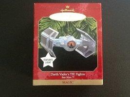 Darth Vader's TIE Fighter Star Wars Hallmark Christmas Ornament - $29.69