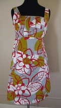 Anthropologie Maeve Dress 'Rousseau' size 2 Women floral prt cotton blend shift - $34.64
