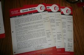 MOPAR 3 Chrysler Imperial Service Tech Bulletin Electrical #58-13 #58-20 #58-58 - $7.84