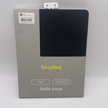 "Heyday Black Folio Tablet Case With Stylus Holder - 10.2"" iPad & 10.5"" i... - $13.99"
