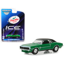 1968 Chevrolet Camaro RS/SS Green with Black Top Turtle Wax Ice Lasting ... - $12.76