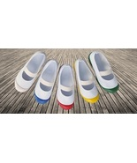 Real Japanese School Uniform Shoes, Uwabaki / Uwagutsu Slippers, Made In... - $24.99