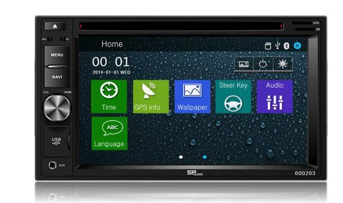 DVD GPS Navigation Multimedia Radio and Dash Kit for Honda Accord 2004
