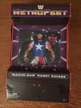 MACHO MAN RANDY SAVAGE WWE Mattel Elite RetroFest Action Figure Toy - $28.01