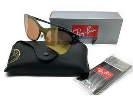 RAY-BAN Sunglasses Blaze Cat Eye BLK Frame Pink/RedMirror Lenses RB3580N... - $106.67