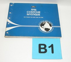1996 Contour Electrical and Vacuum Trouble Shooting Service Manual GOOD USED #B1 - $12.82