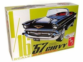1957 CHEVROLET BEL AIR CONVERTIBLE 1/16 AMT AMT1159 - $204.86