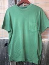J. Crew Men's Size L Pocket T-shirt Green - $18.30