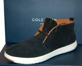 Cole Haan Grandpro Black Men's Casual Suede Shoes Ankle Boots Sz US 12 E... - $147.51