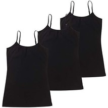 HOCAIES Women's Basic Solid Tank Tops Casual Cami Camisole with Adjustab... - $21.57