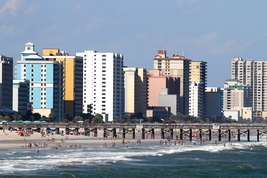 Myrtle Beach Skyline 13 x 19 Unmatted Photograph - $35.00
