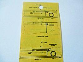 Details West # AF-198 Rrime I Air Filter Set  HO-Scale image 3