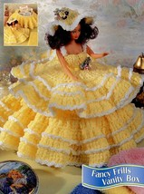 Fancy Frills Vanity Box Barbie Annie's Crochet Pattern/Instructions Leaf... - $2.67