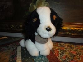 Russ Yomiko Classics Black & White Spaniel Puppy Dog Nr 35741  7 inch - $57.83