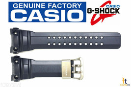 CASIO G-SHOCK Gulfmaster GWN-1000NV-2A Navy Blue Rubber Watch Band Strap  - $93.45
