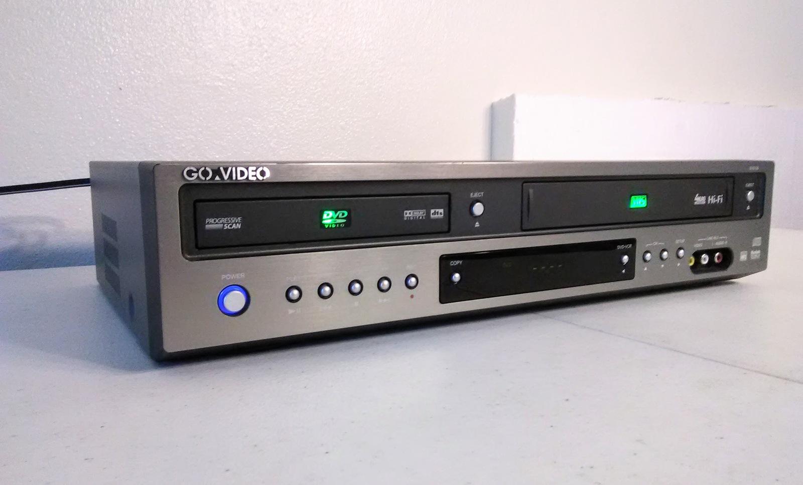 go video dv2130 dvd vcr combo no remote and similar items rh bonanza com