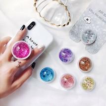 Starry Sky Sands Phone Holder Ring Expand Stand Finger Mobile Phone Bracket - $3.29