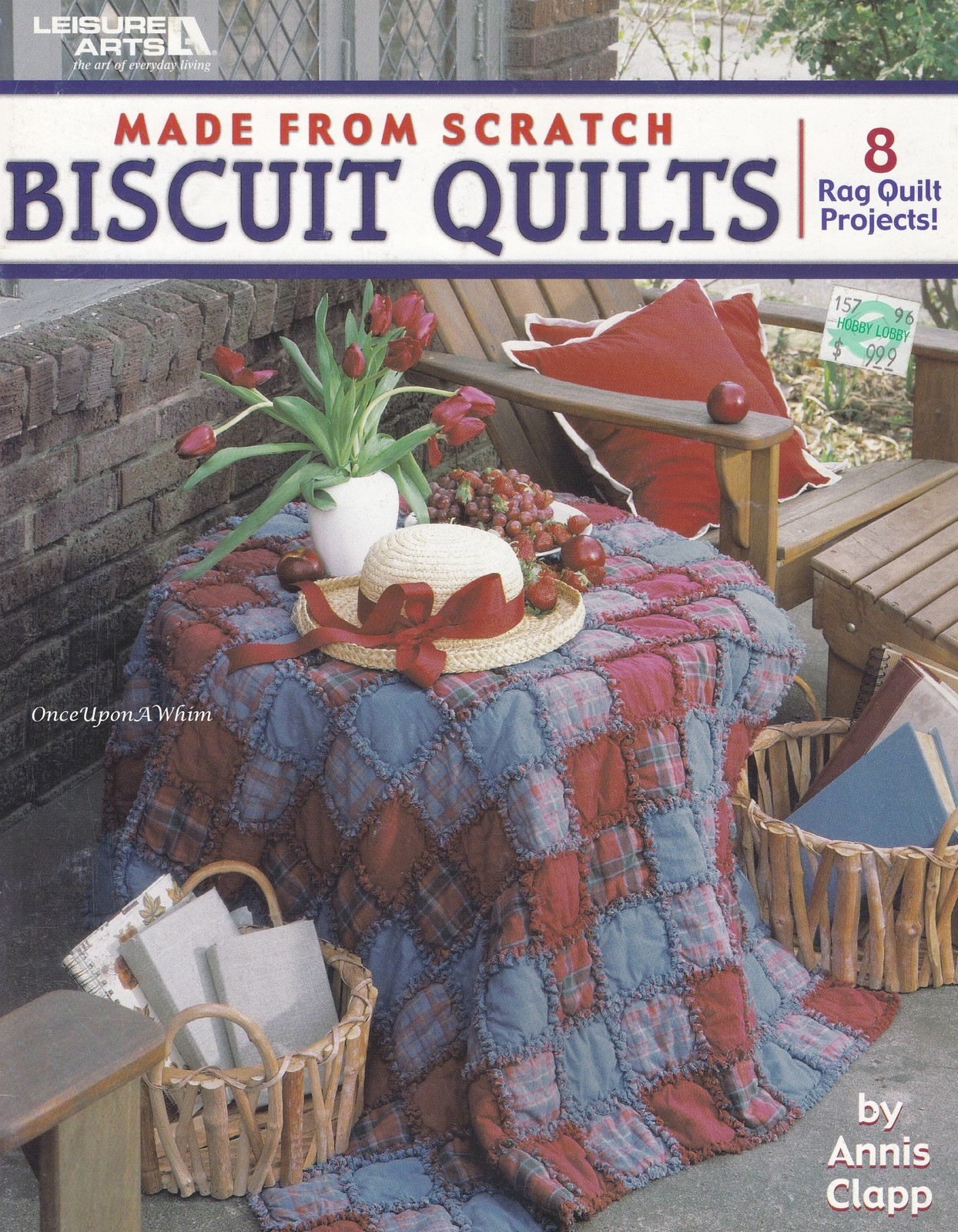 Primary image for Made From Scratch Biscuit Quilts, Leisure Arts Rag Quilt Quilting Patterns 3750
