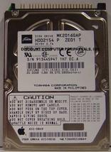 "20GB 2.5"" 9.5MM IDE 44PIN Hard Drive Toshiba MK2016GAP HDD2154 Our Drives Work"