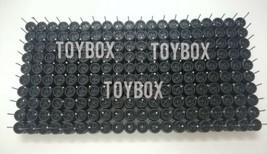 [PROMO] HOT WHEELS 4 SPOKE R/R RUBBER WHEELS TIRES BLACK 100 SETS 10MM 1/64 - $199.90