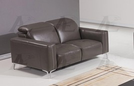 American Eagle EK069-TPE Taupe Italian Full Leather Sofa - $2,028.00